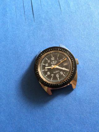 Sportliche Klassische Vintage Taucheruhr Re Watch,  Mit Datumsanzeige Bild