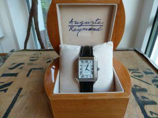 Auguste Reymond Herren Armbanduhr Automatik Tcm Schwerzer Uhrwerk Ovp Bild