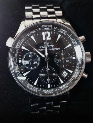 Poljot Traveller Chronograph Uhrwerk 31682 Bild
