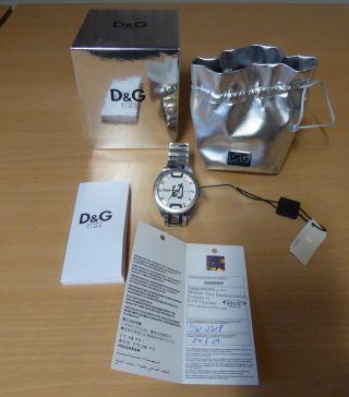 Dolce&gabbana,  D&g,  Time,  Dw0318,  Shuffled,  Herrenarmbanduhr,  Ovp, Bild