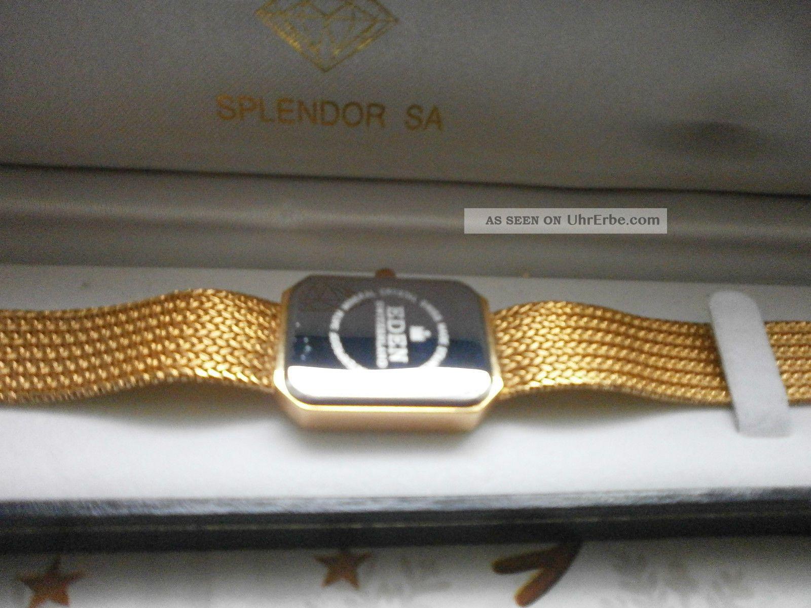 brand new a3ac7 e9cf2 Eden Switzerland Quartz Armbanduhr Damen Goldfarbig Uhr ...