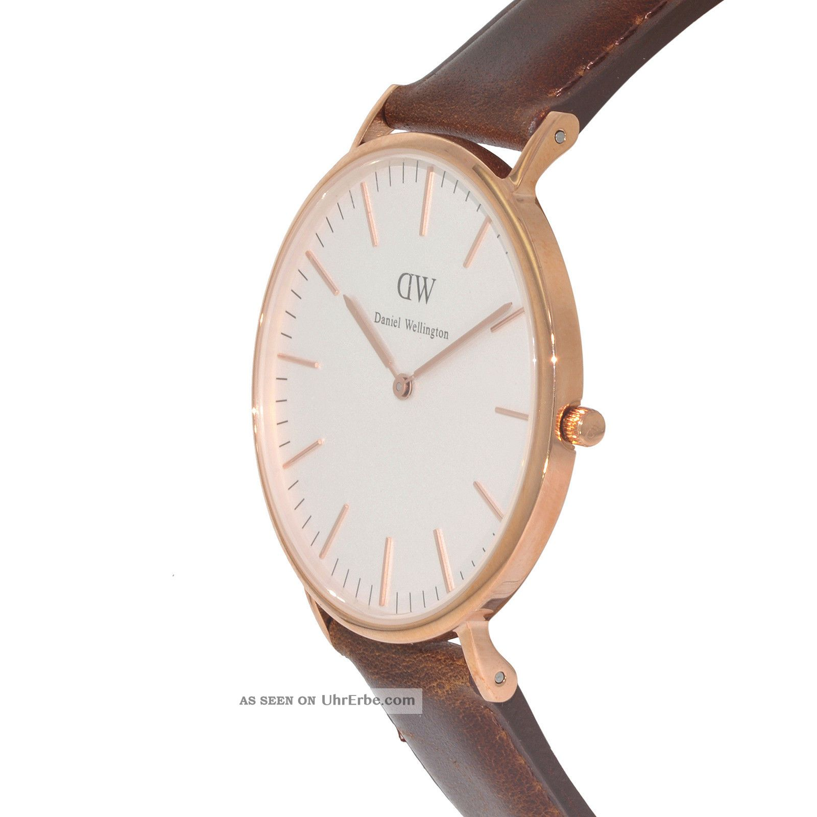 daniel wellington bristol rose gold herren uhr 0109dw. Black Bedroom Furniture Sets. Home Design Ideas