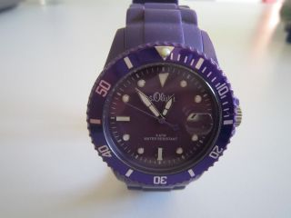 Armbanduhr S.  Oliver,  Lila,  Damen Bild
