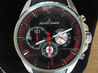 Jacques Lemans Uhr Herren Liverpool 1 - 1655d / 1 - 1655 Neuwertig Bild