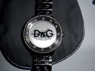 Dolce & Gabbana D&g Dw0145 Prime Time Damenuhr Uhr Bild