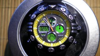 Adidas Chronograph - Ana - Digi - Multifunktion - 10 Atm Bild