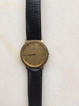 Maurice Lacroix Armbanduhr Für Herren Saphir Glas Vergoldet Nr.  32312 Bild
