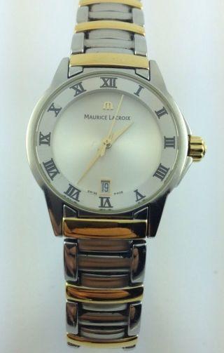 Maurice Lacroix - Miros - Armbanduhr - Edelstahl - 18kt Gold - Plattiert Bild