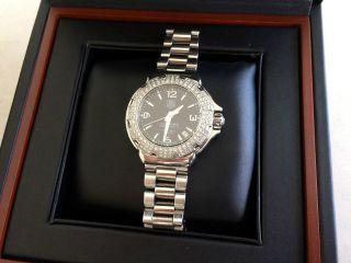 Tag Heuer Formula 1 Diamond Wac1214.  Ba0852 Armbanduhr Für Damen Bild