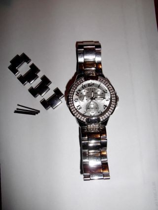 Guess Uhr I14503l1 Prism Damenuhr Luxusuhr Markenuhr Bild