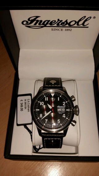 Ingersoll Automatic Limited Edition Call Away Gt Masters Bild