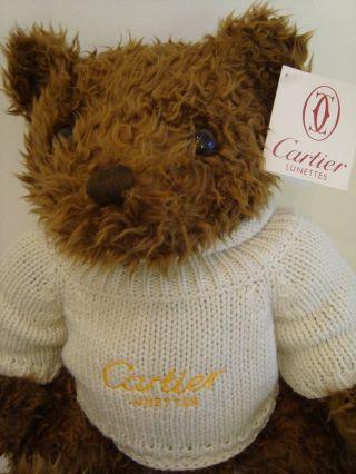 Orig Cartier Collector Bear 1998