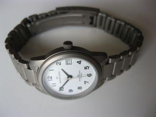 Meister Anker - Titan - Uhr - Damenuhr - Datum - Weiss - Bild