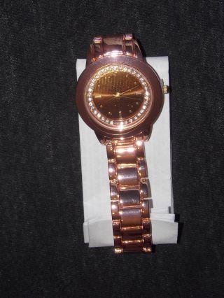 Elegante Damenuhr Armbanduhr Uhr Rosé Bild