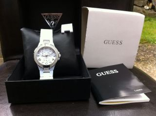 Uhr Guess Weiß Damenuhr Bild