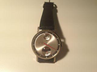 Orion Herren Armband Uhr,  Handaufzug,  Scheiben Uhr,  Bauhaus Uhr Bild