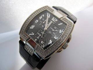 Guess Swarovski Damenchrono Prism Squared W14515l1neu Np.  220€ Bild