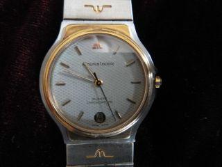 Luxus - Armbanduhr Von Maurice Lacroix Modell 19796 Bild