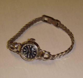 Alte Damenuhr Anker,  Massiv Silber 835,  Originales Glashütter Uhrwerk Gub 09 - 20 Bild