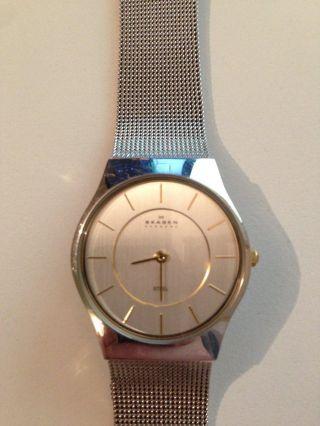 Skagen Designs Slimline Armbanduhr Für Damen Bild