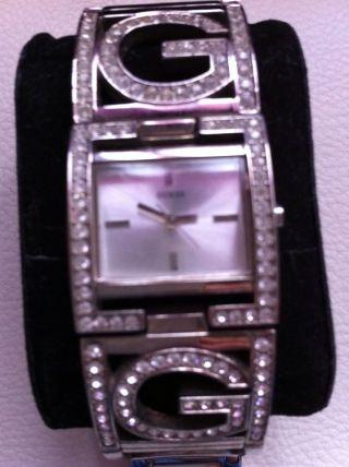 Guess Uhr Damen Aus York Silber Wie Bild