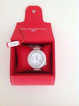 Swiss Legend Neptune - Np 495€ In Originalverpackung - Weiss / Silber Bild