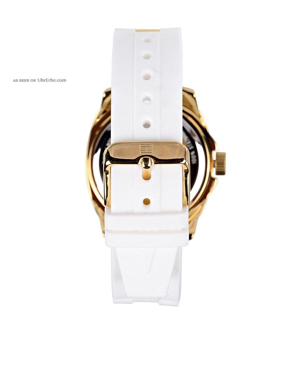tommy hilfiger uhr damen gold nextime watch curved 2862. Black Bedroom Furniture Sets. Home Design Ideas