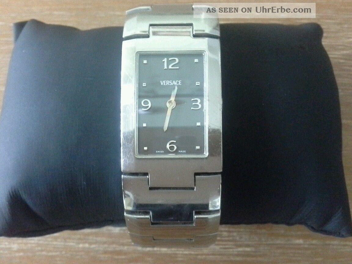 Versace Greca - Csq99 - 990139 - 6385 - Damenuhr - Armbanduhr Armbanduhren Bild