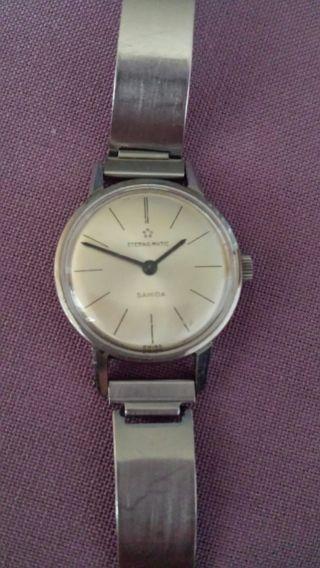 Eterna Matic Damen Uhr Automatik Bild