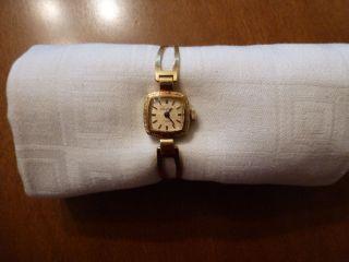 Damen Armbanduhr Glashütte Gub 17 Rubis Bild