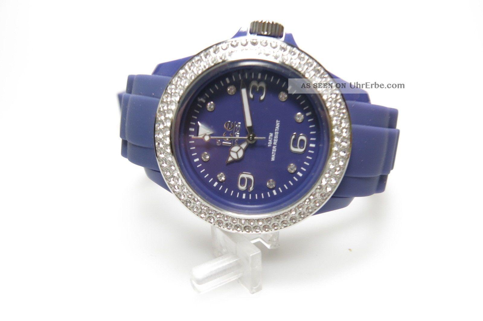 Ice Watch St. Psd. U. S. 10 Stone Purple Silver Sili