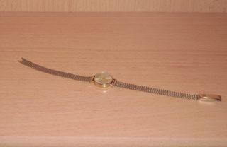 Dugena Damen Armbanduhr Gold 585 / 333 - Erbstück Bild