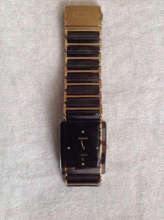 Rado Diastar Jubile Schwarz Mit 4 Diamanten Top Bild