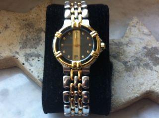 Maurice Lacroix Damen Uhr Calypso Stahl & Vergoldet Selten Getragen Bild