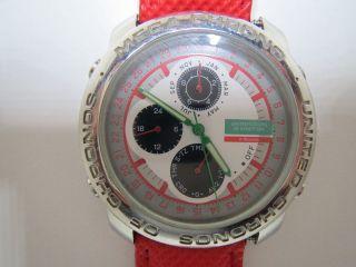 Unitet Colors Of Benetton Durchmesser 38mm Modell Bn201von Bulova Bild