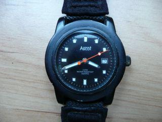 Ascot 0301 Herrenuhr,  Armbanduhr,  Mit Bequemen Stoffarmband Bild