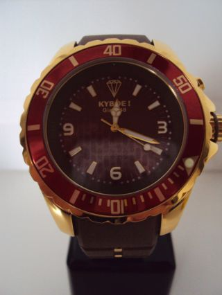 Kyboe Gold Series Kg 006 - 48 Quarz Uhr 10 Atm Uvp 219€ Led Bild
