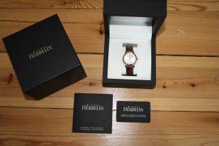 Michel Herbelin Classic Ref.  12443/p01 | Dau/hau | | Ovp | Saphirglas | Lb Bild