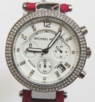 Michael Kors Damenuhr Mk - 2278 Damenchronograph Silber - Bild