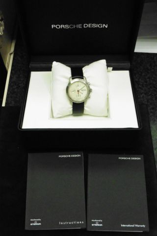 Porsche Design Eterna Dau Hau Herrenuhr Luxus Klassisch Uhr Automatik Watch 6605 Bild