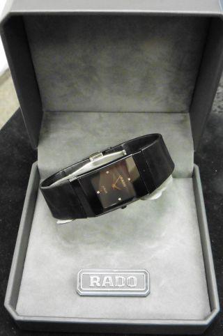 Rado Diastar Leder Dau Hau Herrenuhr Luxus Klassisch Uhr Quarz Watch 111.  0322.  3 Bild