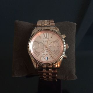 Michael Kors Lexington Rosé Damenuhr Mk5569 Armbanduhr Bild