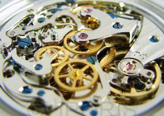 Riedenschild Germany Chrono Herrenuhr Mechanisch Schaltrad Chronograph Men Watch Bild