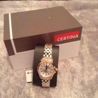Certina Luxus Damen - Armbanduhr Brillanten C0042102203600 Weihnachten Bild