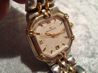 Maurice Lacroix Swiss Made Damen - Armbanduhr Mit Datum Uhr Bild