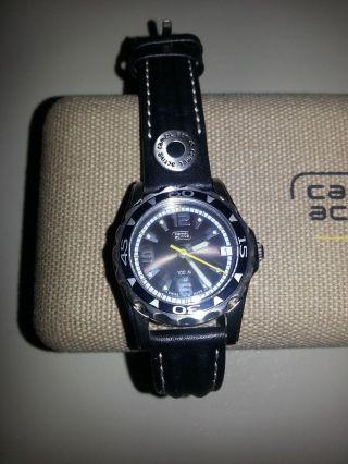 Damen Uhr Camel Aktiv Leder Armband Bild