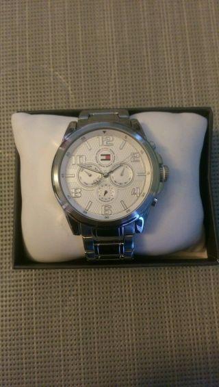 Tommy Hilfiger Herren Chronograph Uhr Bild