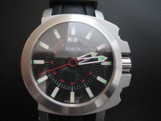 Xemex Armbanduhr Concept One Big Date - Saphirglas Und Box - Ungetragen Bild