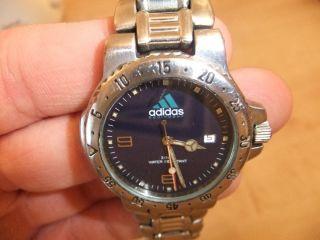 Adidas Equipment Uhr/ Watch Edelstahl Aus 1994 Bild