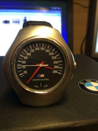 Bmw Uhr Mpower 3er M5 Uhr Tachometer Bis 280 Km/h Bild